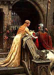 Medieval Castle Staff Princess