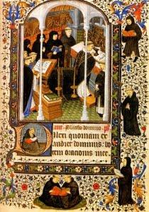 Medieval composer church music