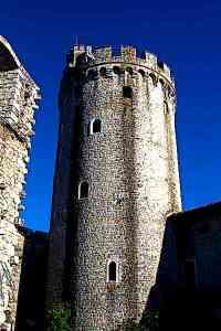Rihemberk Medieval Castle tower