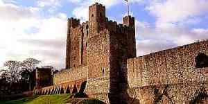 Medieval Castle Keep Rochester Castle Castle Keep