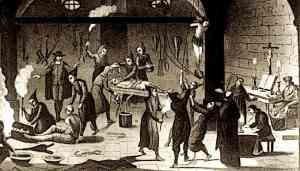 The Spanish Inquisition Torture