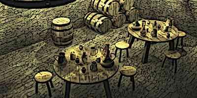 Medieval Drinks - Inside a medieval Inn
