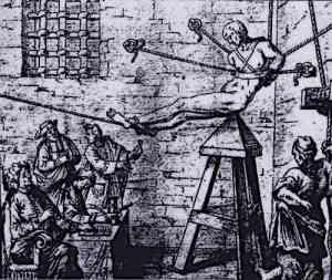 Judas Cradle Torture Device