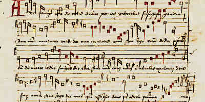 Medieval Composers Music Sheet