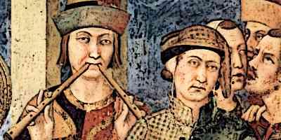 Medieval Minstrel Musicians