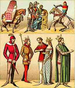 Medieval Fashion of Nobility