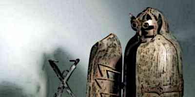 Medieval Iron Maiden torture device