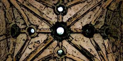 Bodiam Castle Ceiling Murder Holes