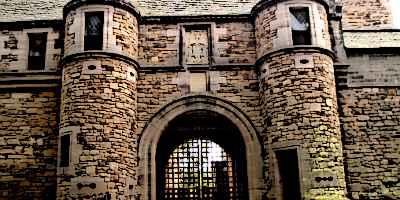 Dean Castle Medieval Castle Gatehouse