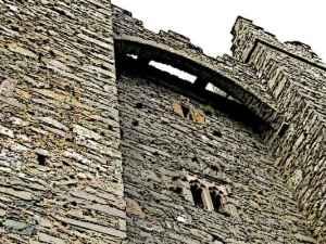 Castle Machicolations Murder Holes
