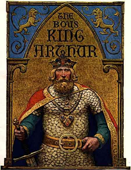 King Arthur Famous Medieval Knight
