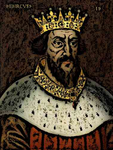 Medieval King Henry I