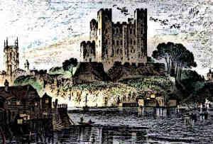 Rochester Castle Medieval Castle History Norman Castle
