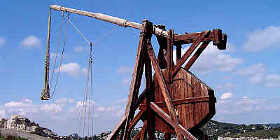 Trebuchet Siege Weapon