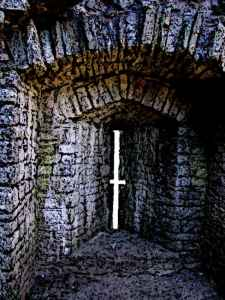 Castle Arrow Slit Inside