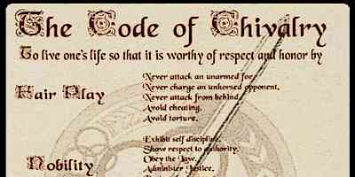Code of Chivalry in Medieval Life