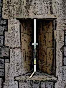 Windsor Castle Arrow Slit