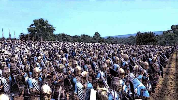 Battle of Agincourt French Knights Battle Ready