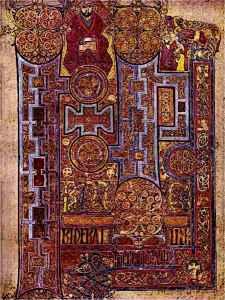 Western Caligraphy Book of Columba