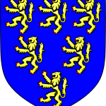 Coat of Arms Geoffrey of Anjou