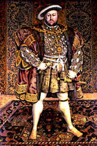 KIng Henry VIII King of England