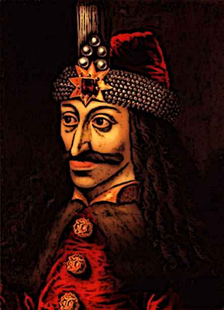 King Vlad the impaler portrait
