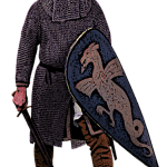 Norman Knight Kite Shield