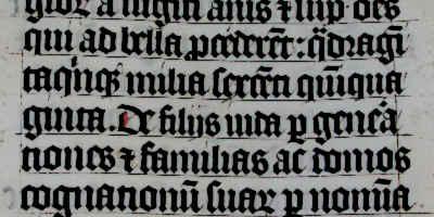 Maimesbury Bible Medieval Calligraphy