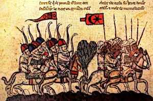 Medieval Cavalry Lancers Battle Of Homs