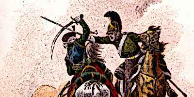 Mamluk Cavalry in combat