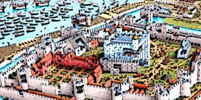 Medieval London City Image