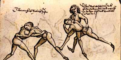 Medieval Sports Wrestling