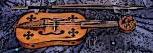 Medieval Vielle Instrument