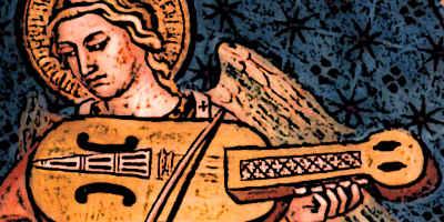 Medieval Vielle Instrument Viola Chiavi Siena