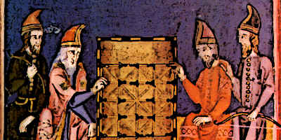 Medieval Games Alquerque
