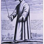 Black Death Herb Mask worn by medieval doctor