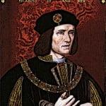 King Richard III portrait painting of medieval king