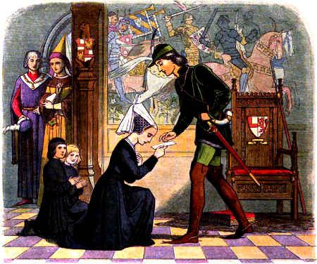 Medieval Kings Edward IV & Lady Elizabeth Grey