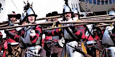 Medieval Soldiers Pikemen