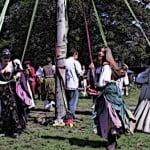 Medieval Maypole dance Medieval Fair