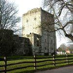 Early-Medieval-Castles-Portchester-Castle-England