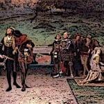 Medieval King Edward II & Piers Gaveston