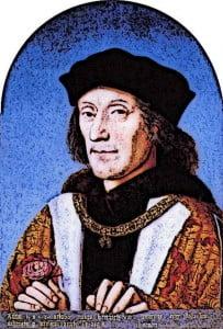 King Henry VII Medieval Kings Portrait