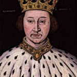 King Richard II Medieval King In Ceremonial Clothing