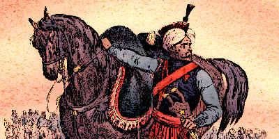 Mamluk Cavalry Soldier