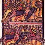 Medieval King Edward I 2nd Barons War
