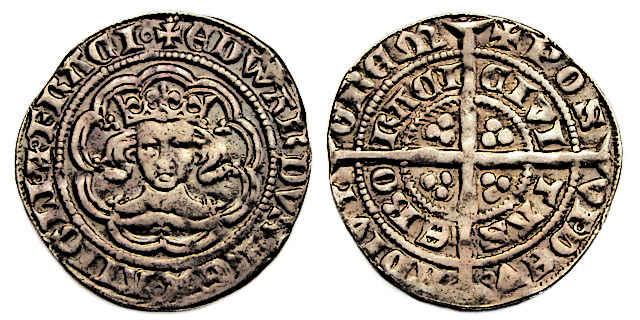 Medieval King Edward III Coin