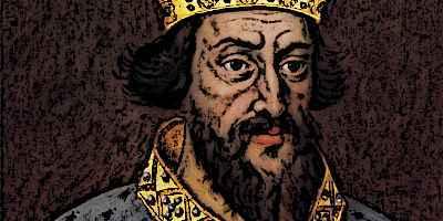 Medieval King Henry I Portrait