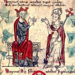 Medieval King Henry VII and Thomas Beckett