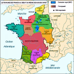 Crown lands of France Under Feudalism